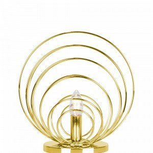 Globen Lighting Aurora Pöytävalaisin Messinkiä
