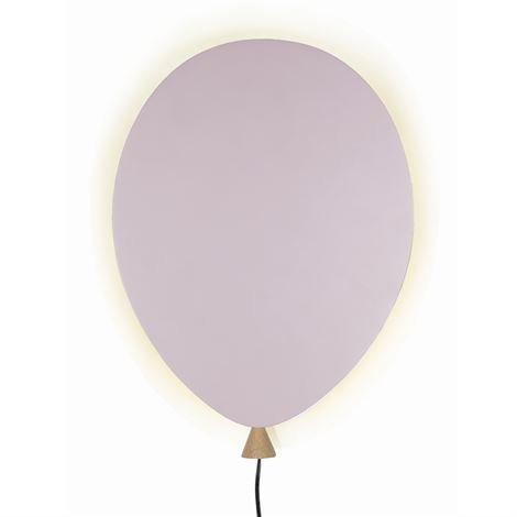 Globen Lighting Balloon Seinävalaisin Vaaleanpunainen-Saarni