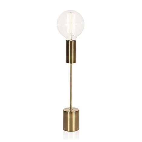 Globen Lighting Bright Pöytävalaisin Messinki