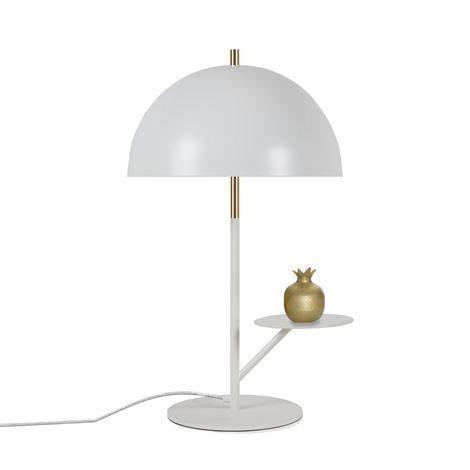 Globen Lighting Butler Pöytävalaisin Valkoinen