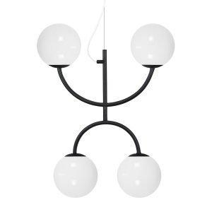 Globen Lighting Butler Riippuvalaisin X Musta