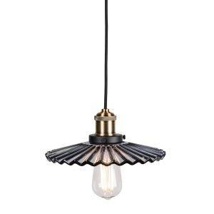 Globen Lighting Cobbler Riippuvalaisin Mini Savunharmaa