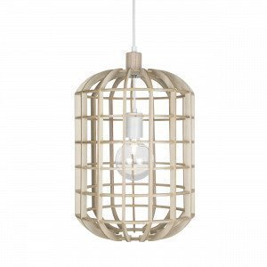 Globen Lighting Crib Pendel Natur Kattovalaisin