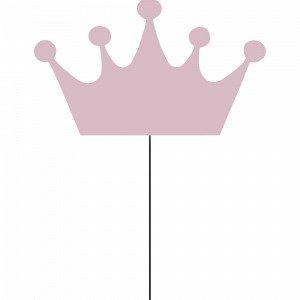 Globen Lighting Crown Rosa Seinävalaisin