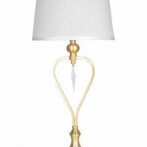 Globen Lighting Crystal Pöytävalaisin Valkoinen