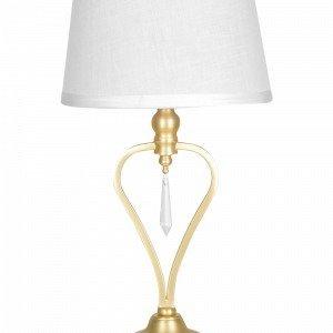 Globen Lighting Crystal Small Pöytävalaisin Valkoinen