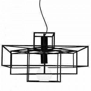 Globen Lighting Cube Kattovalaisin Musta
