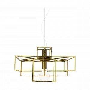 Globen Lighting Cube Riippuvalaisin Messinki