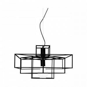 Globen Lighting Cube Riippuvalaisin Musta