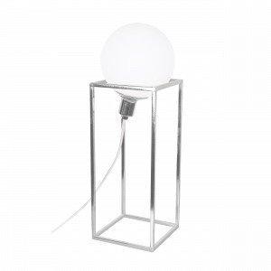 Globen Lighting Cube Xl Pöytävalaisin Kromi