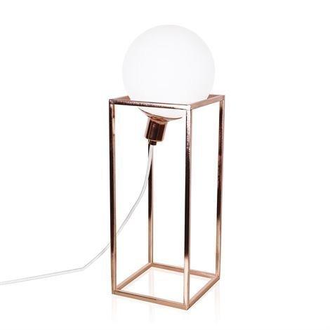 Globen Lighting Cube Xl Pöytävalaisin Kupari