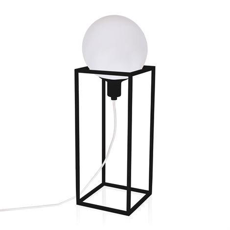 Globen Lighting Cube Xl Pöytävalaisin Musta