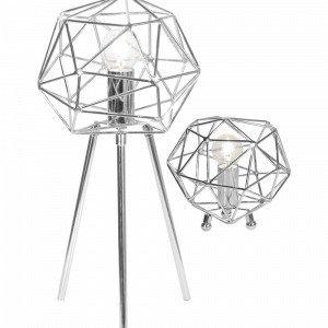 Globen Lighting Diamant Pöytävalaisin Kromia