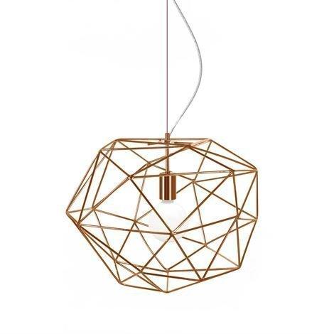 Globen Lighting Diamond Kattovalaisin Kupari