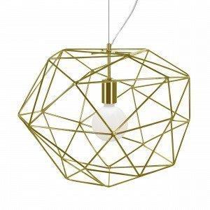 Globen Lighting Diamond Kattovalaisin Messinki