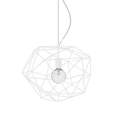 Globen Lighting Diamond Kattovalaisin Valkoinen