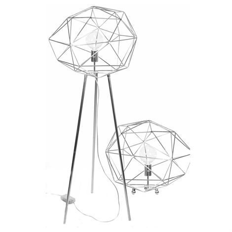 Globen Lighting Diamond Lattiavalaisin Kromi