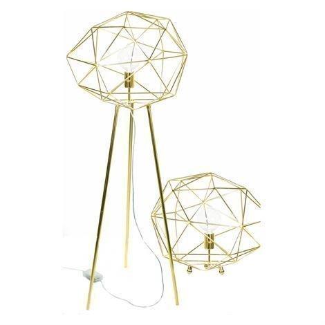 Globen Lighting Diamond Lattiavalaisin Messinki
