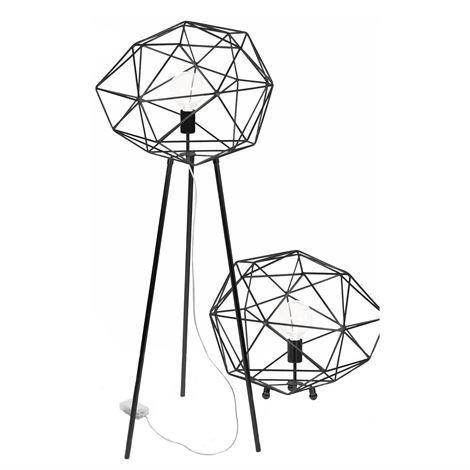 Globen Lighting Diamond Lattiavalaisin Musta