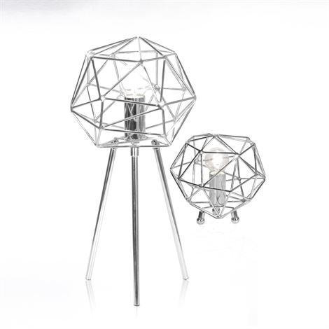 Globen Lighting Diamond Pöytävalaisin Kromi