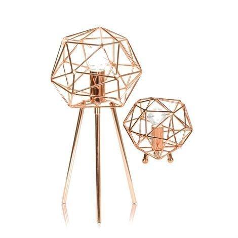 Globen Lighting Diamond Pöytävalaisin Kupari
