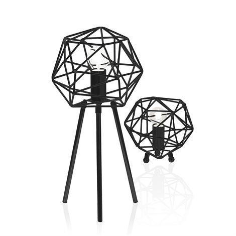 Globen Lighting Diamond Pöytävalaisin Musta