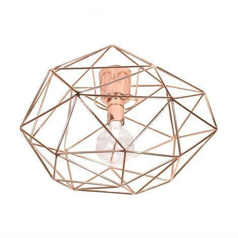Globen Lighting Diamond Plafondi Kupari