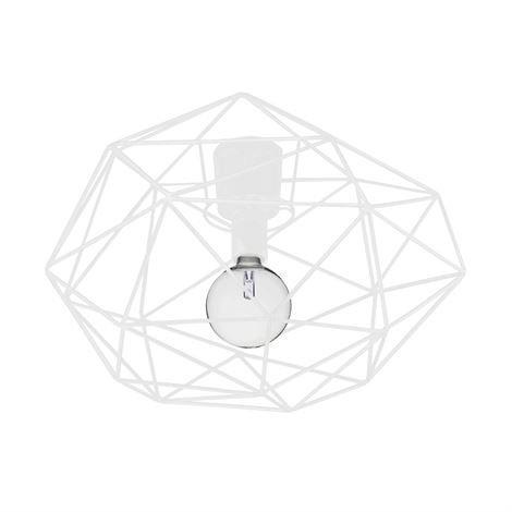 Globen Lighting Diamond Plafondi Valkoinen