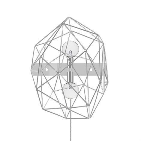 Globen Lighting Diamond Seinävalaisin Kromi