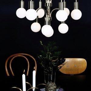 Globen Lighting Grace Kattokruunu Messinkiä