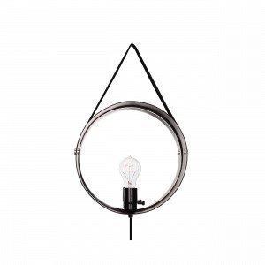 Globen Lighting Hangover Seinävalaisin Kromi
