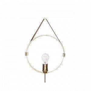 Globen Lighting Hangover Seinävalaisin Messinki