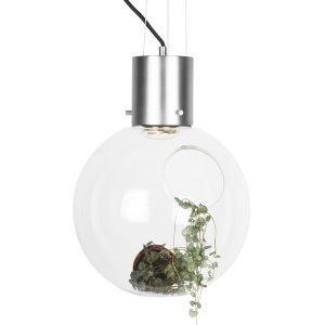 Globen Lighting Hole Riippuvalaisin Xl Kirkas / Kromi Ø30 Cm