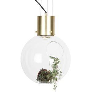 Globen Lighting Hole Riippuvalaisin Xl Kirkas / Messinki Ø30 Cm