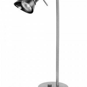 Globen Lighting Ingo Pöytävalaisin Harjattua Kromia