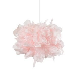 Globen Lighting Kate Riippuvalaisin Vaaleanpunainen