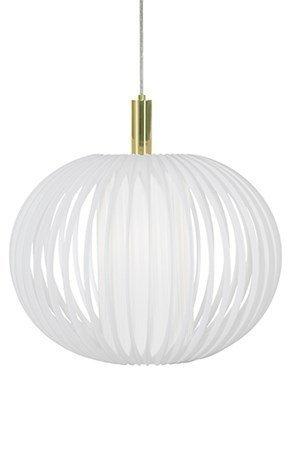 Globen Lighting Kattolamppu Muovi XL Valkoinen / Messinki
