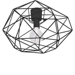 Globen Lighting Kattoplafondi Musta