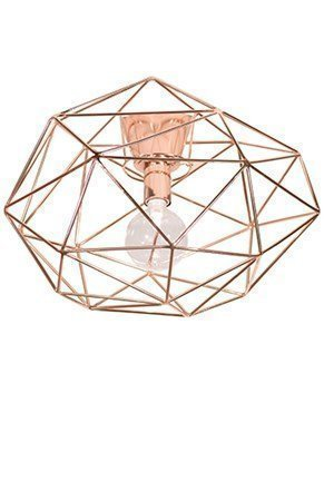 Globen Lighting Kattovalaisin Diamond Kupari