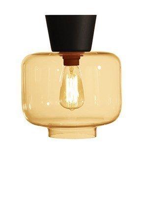 Globen Lighting Kattovalaisin Ritz Amber / Musta