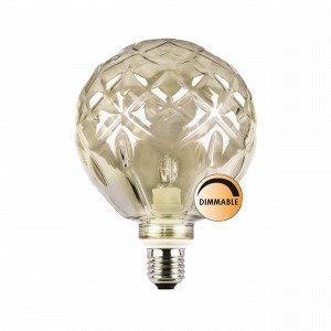 Globen Lighting Kristall Halogeenilamppu Savulasi