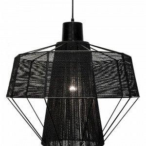 Globen Lighting Layer Kattovalaisin Musta