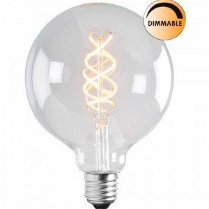 Globen Lighting Led Soft Filament Lamppu Himmennettävä Kirkas 125 Mm