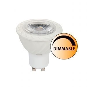 Globen Lighting Led Spot Gu10 Klar 5w Dimbar Led Lamppu Lasinkirkas