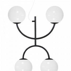 Globen Lighting Lunaxkattovalaisin Musta