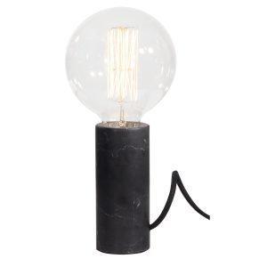 Globen Lighting Marble Pöytävalaisin Musta Marmori