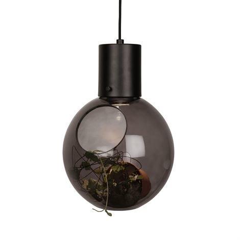 Globen Lighting Mini Hole Kattovalaisin Savunharmaa-Musta