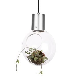 Globen Lighting Mini Hole Riippuvalaisin Kirkas / Kromi Ø20 Cm