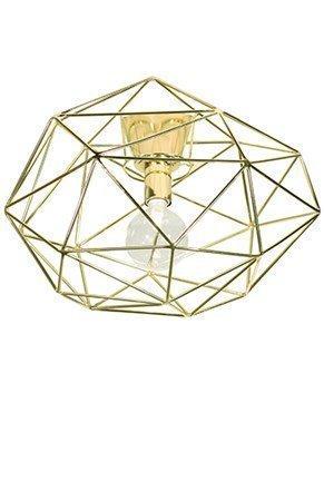 Globen Lighting Plafondi Diamond messinki