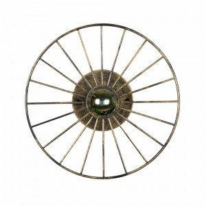 Globen Lighting Wheel Mini Plafondi / Seinävalaisin Messinkiä